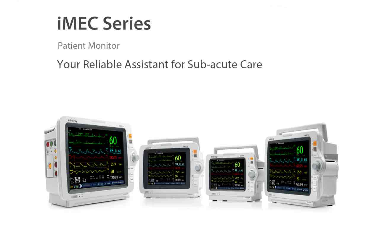 Standard Operating Procedure for Patient Monitor Mindray Imec-8